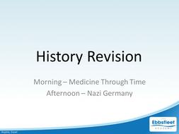 Medicine Through Time Revision Lecture