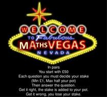 Percentage Math Vegas