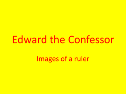 Edward the Confessor Portraits