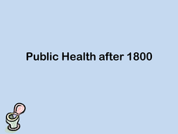 Public Health after 1800