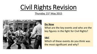 Early Civil Rights Revision
