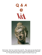V & A Museum Questionaire: Hindu & Buddhist Art