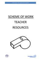 Level 1 Sports Leaders Award Scheme of Work