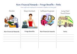 Business studies: non-financial rewards