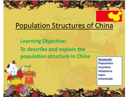 China - Population Structure
