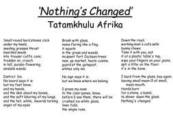 'Nothing's-Changed'-(Tatamkhulu-Afrika).pptx