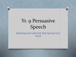 Yr9 Persuasive writing/advertising 'Parody'