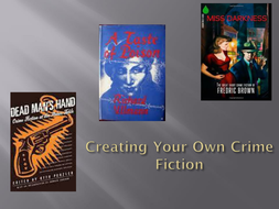 Yr8 Creating Crime Fiction