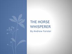 Moon on the Tides Anthology Poem, The Horse Whisperer