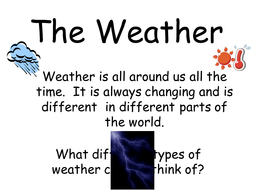 Weather Comparison