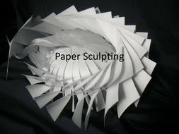 Paper Sculpting KS2