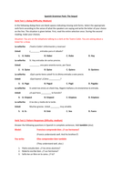 Spanish Grammar Pack (pre A-Level)