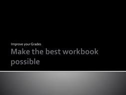 Make the best Photography Workbook