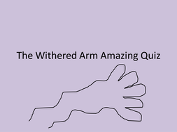 The Withered Arm and Other Wesses Tales