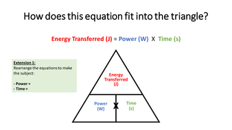 AQA P1.3 Cost of Electricity Independent Lesson High Ability