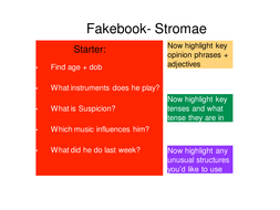 Fakebook French Music Artists