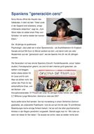 """Arbeitslosigkeit : Spaniens """"generación cero"""""""