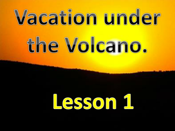 Vacation Under the Volcano - A story about Romans and Pompeii.