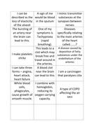 OCR AS Biology Smoking Diseases