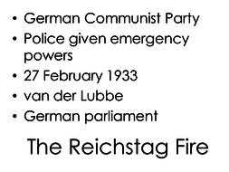 German History Revision Taboo