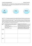 Mr Stink - Guided Reading worksheets (differentiated 3  ways)
