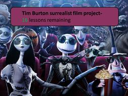 Surrealism lesson 3/ Tim Burton project
