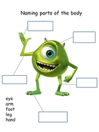 Monsters Inc resources