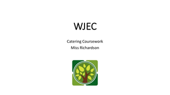 WJEC Coursework Template