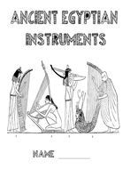D&T booklet Egyptian Instruments