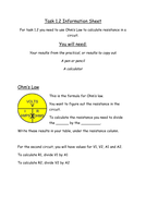 Electricity & Energy lessons