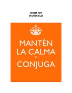 KS4 Spanish Tenses Guide