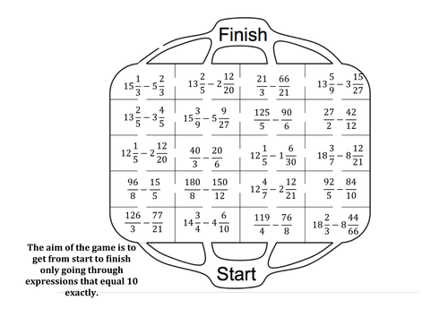 Adding Mixed Numbers Maze by Rosiebaggs1 Teaching Resources TES – Adding Mixed Numbers Worksheets