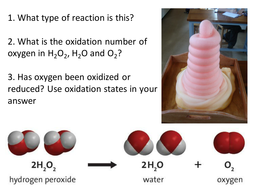 REDOX lesson 2 - Disproportionation reactions - AS Chemistry