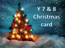 Electronic Christmas Card Project.