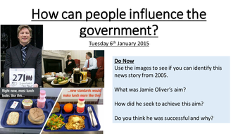 How can the public influence the government?