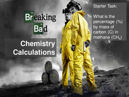 Breaking Bad C2 Chemistry Calculations