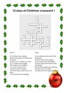 12 days of Christmas crossword.pdf