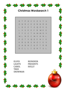Christmas Wordsearches.docx