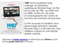 1987 - Film study pack