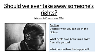 Should we ever take away someone's rights.pptx