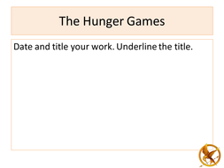 The Hunger Games SoW