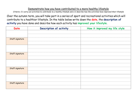 Healthy Activity Record Sheet.docx