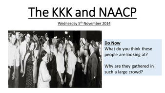 The KKK and NAACP.pptx