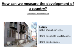 Judging a Country's Development