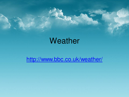 Weather Measurements