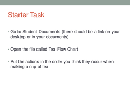 Grade 9 Flowcharts Lessons
