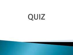 Quiz on environment