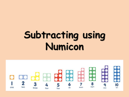 subtraction from 10 using numicon by choralsongster teaching resources. Black Bedroom Furniture Sets. Home Design Ideas