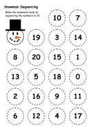 Snowman Sequencing.doc
