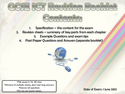 Edexcel Unit 1 Revision Notes